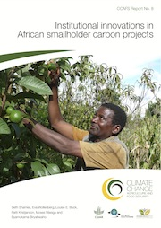 CCAFS Report 8: Institutional innovations in African smallholder carbon projects