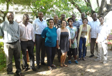 IIAM & CIAT members participating in the ECOCROP training in Mozambique