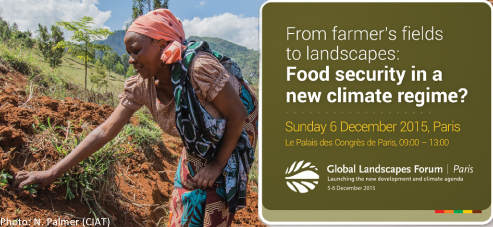 From farmer's fields to landscapes. Food security in a new climate regime?