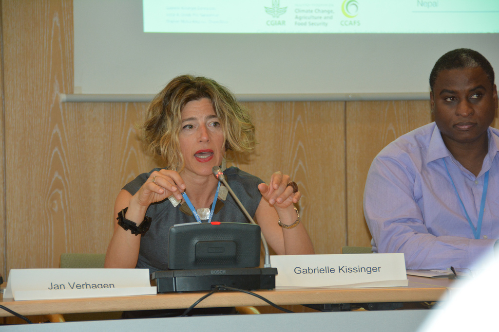Gabrielle Kissinger on NAPs, CIAT side event at SB40