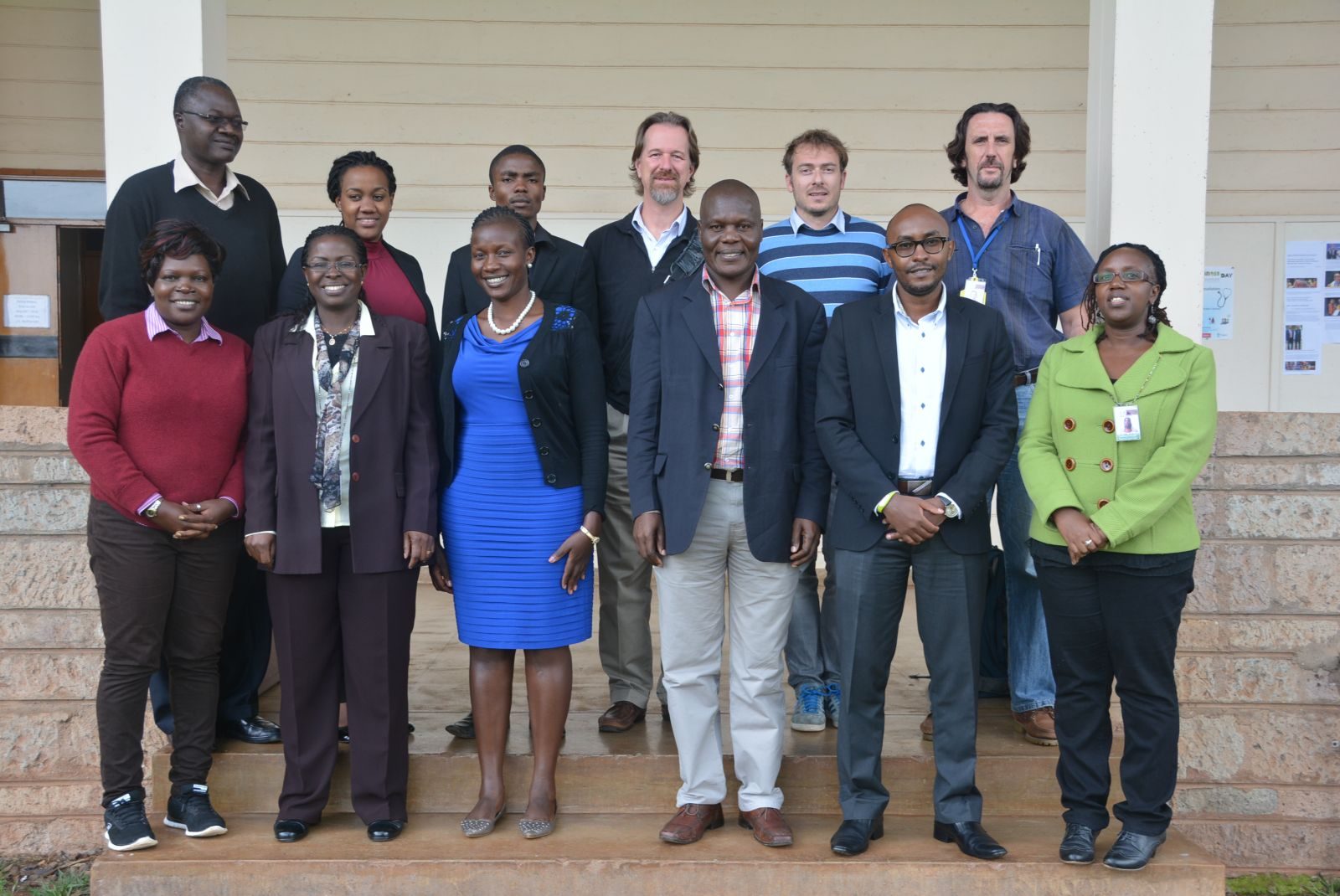 Kenya policy makers together with ILRI scientists and researchers