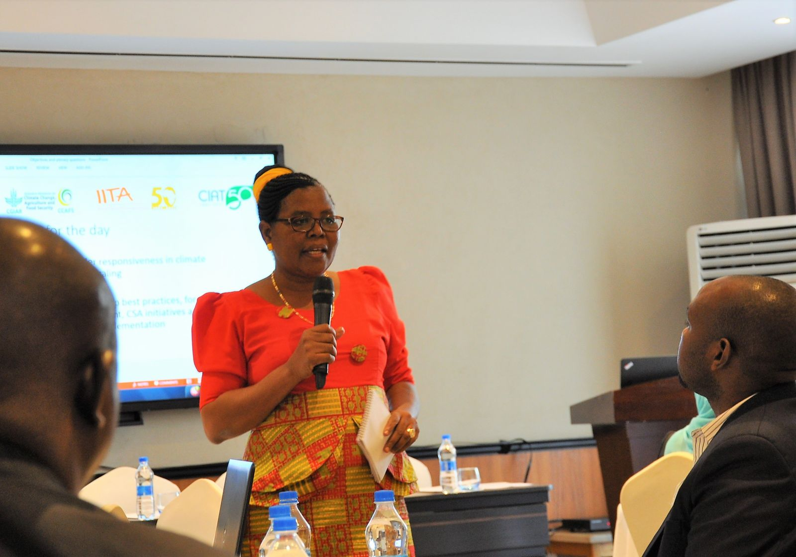 Ms. Natai Shakwaanande, Head of Environment Management Unit Ministry of Agriculture, Livestock and Fisheries, Tanzania