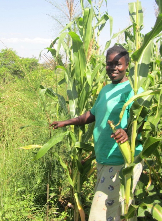 sustainable agriculture land management kenya woman farmer