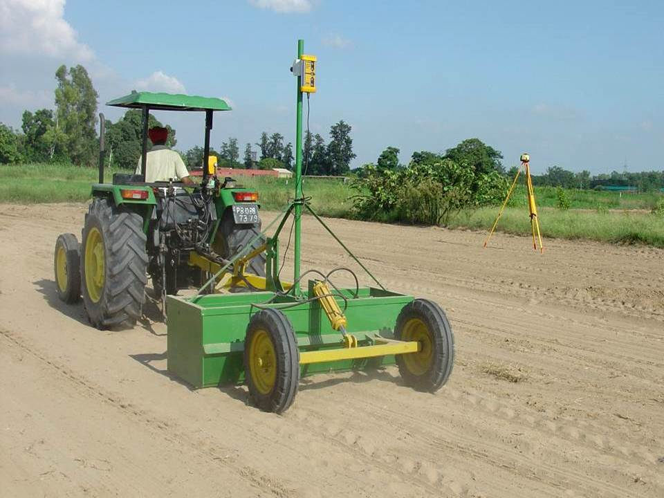 Laser land levelling is a climate-friendly technology which has agricultural productivity in parts of India