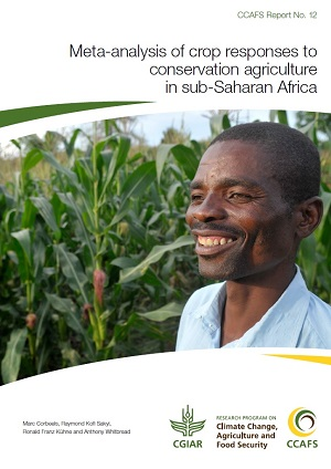 Meta-analysis of crop responses to conservation agriculture in sub-Saharan Africa. Click to download.