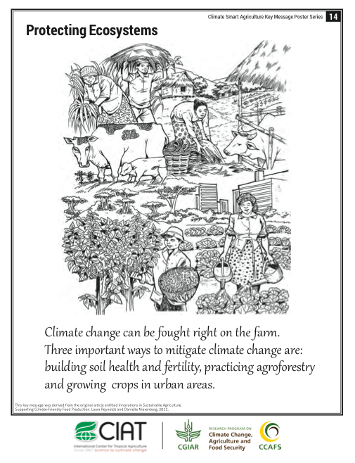 Climate-Smart Agriculture: Protecting Ecosystems