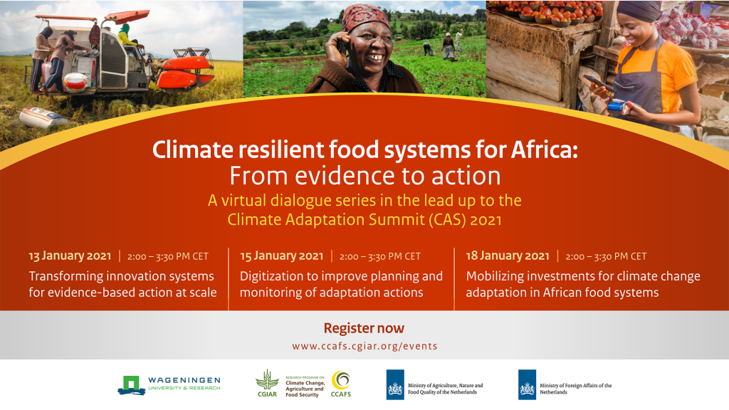 Climate resilient food systems for Africa