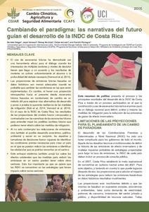 Cambiando el paradigma: las narrativas del futuro guían el desarrollo de la INDC de Costa Rica