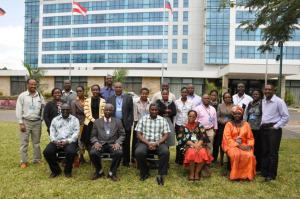 Group picture from the RLP meeting in Arusha earlier this year. Photo: T. Muchaba (CCAFS)