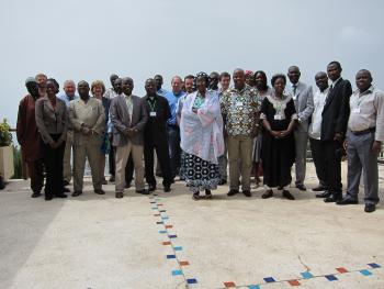 Group picture of the workshop participants.