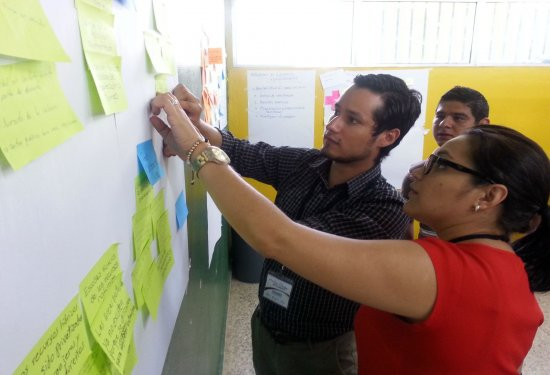 Scenario workshop in Honduras.