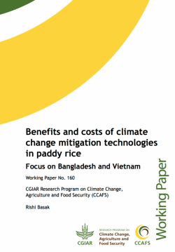 How much will climate change mitigation in agriculture cost? | CCAFS