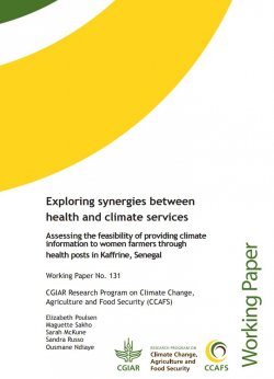 Exploring synergies between health and climate services