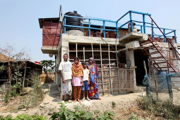 Cyclone Resistant Houses In Bangladesh Secure Food For Family